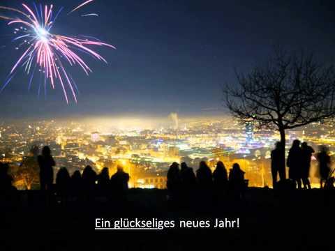Kugelbahn spielt Neujahrslied 2014/2015