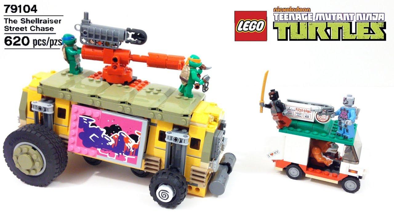 Teenage Mutant Ninja Turtles Lego 79104
