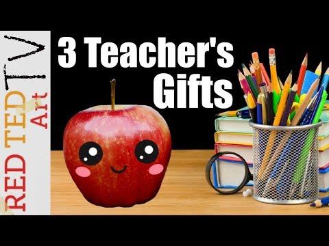 3 Teacher's Day DIYs   Red Ted Art TV - E2