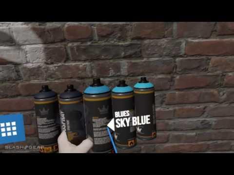 Kingspray Graffiti in MR/VR (short demo)