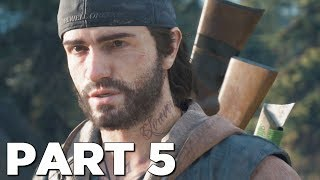 DAYS GONE Walkthrough Gameplay Part 5 - NESTS (PS4 Pro)
