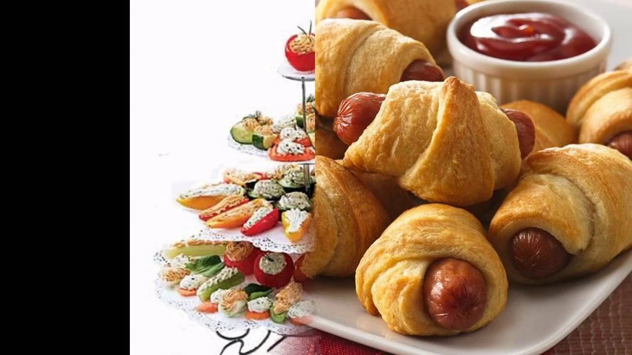Creative Party finger food ideas  YouTube
