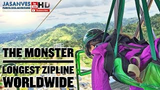 "Longest Zipline in the World by Guinness Record, ""El Monstruo"" (The Monster) Toro Verde Adventure"