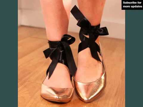 Ballet Costume Pic Ideas | Black Ballet Shoes With Ribbon Romance