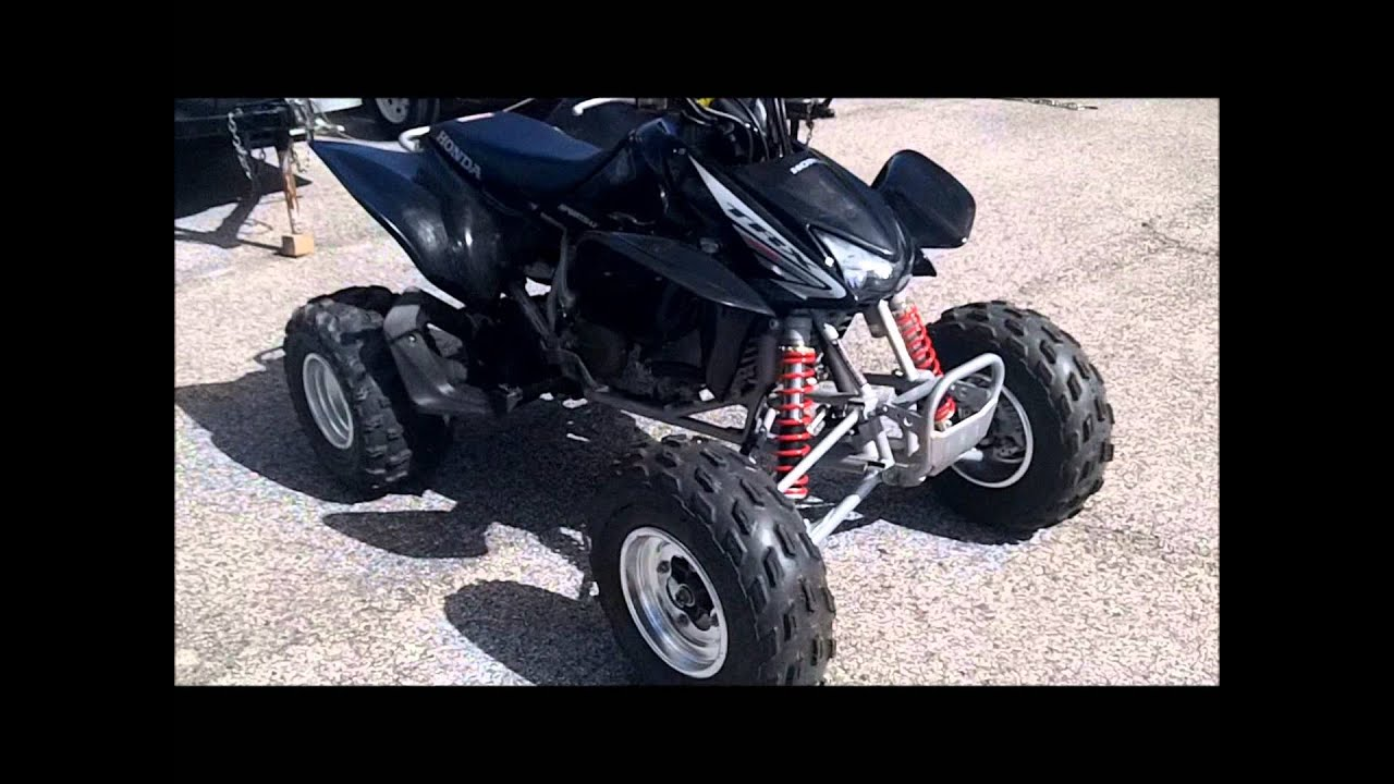 Honda Trx450r For Sale >> 2005 Honda TRX450R for sale - YouTube