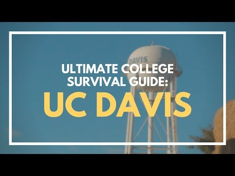 THE ULTIMATE COLLEGE SURVIVAL GUIDE // UC DAVIS