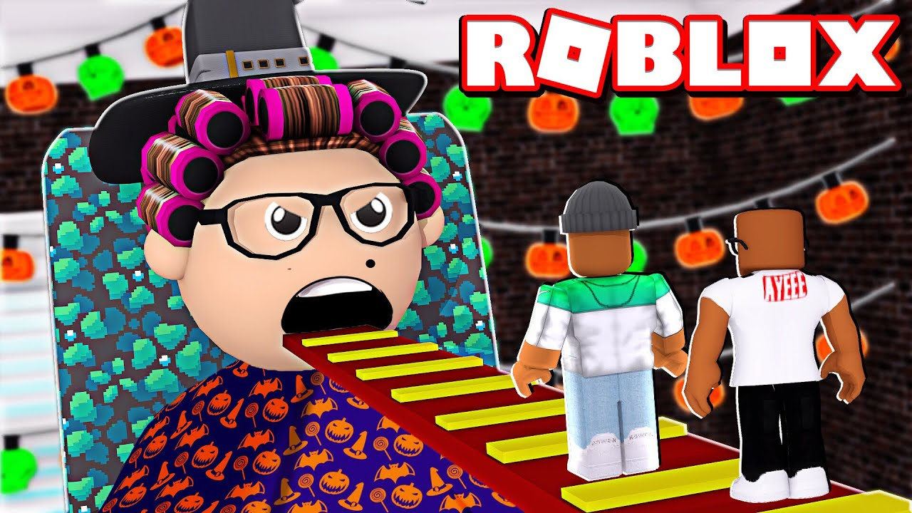 2 Player Escape Grandma S House In Roblox Halloween Update Youtube