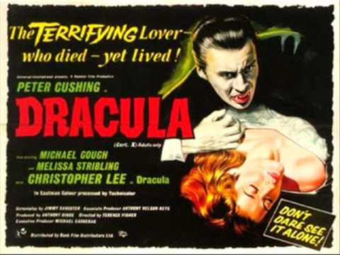 "Hammer classic Score ""Dracula"" Music by James Bernard"