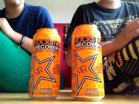 Rockstar Recovery Orange Review