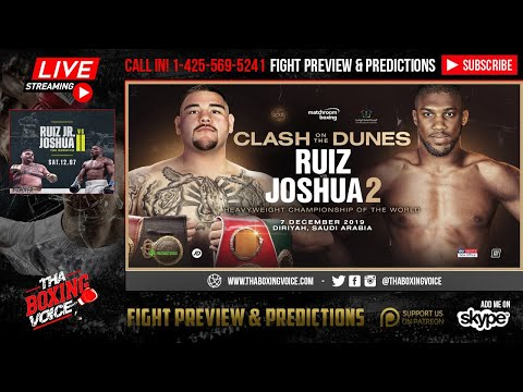 ☎️Ruiz vs Joshua 2 It's Official❗️🔥It's REALLY In🇸🇦Saudi Arabia on December 7😱