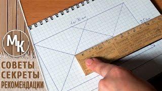 Как рассчитать размер начальной цепочки для вязания прямоугольного коврика или салфетки