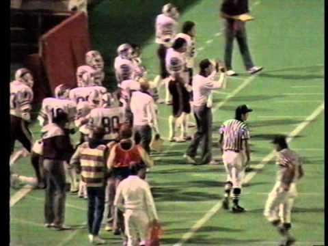 Utah vs. Washington State University w/audio, 1985