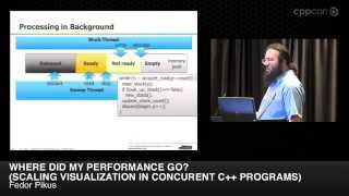 "CppCon 2014: F. Pikus ""...Scaling Visualization in concurrent C++ programs"""