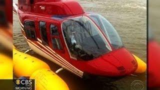 Helicopter splashdown