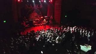 """Nails """"Life Is A Death Sentence"""" The Power of the Riff, Los Angeles. 12-18-16"""