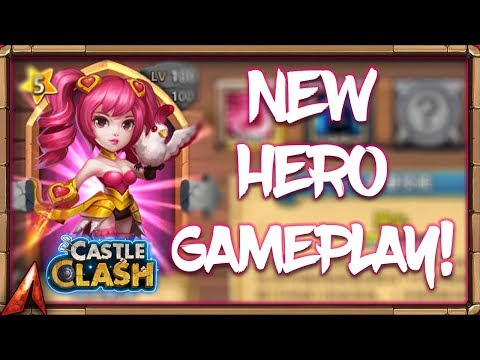 NEW HERO Dove Keeper GamePlay And Thoughts! Castle Clash