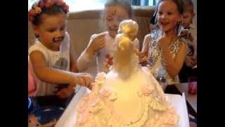 Торт-Кукла Барби- Barbie.Диане 5 лет.( г.Москва. 2014г.) №12