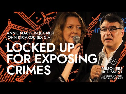 DNL #11: PRISONERS OF DISSENT. PANEL with Annie Machon, Magn