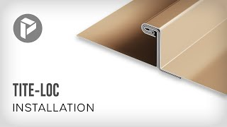Metal Roofing  - How to install Tite-Loc