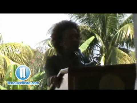 Haiti earthquake: Discours de Michaelle Jean, gouverneur general du canada