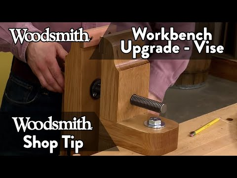 Upgrade Your Workbench with a Bench Vise