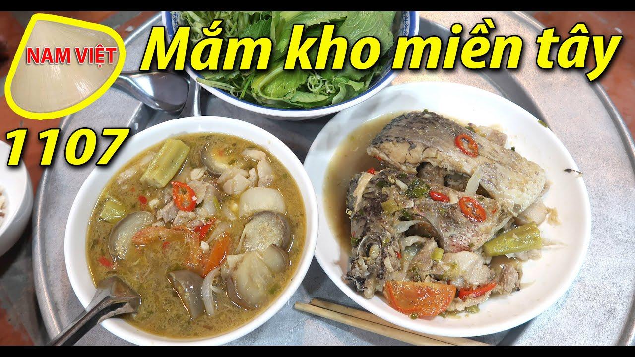 Cá phi kho mắm cá phi - Mắm kho miền tây - Nam Việt 1107