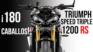 2021 TRIUMPH SPEED TRIPLE 1200 RS   La más potente Triumph de la historia   Sonido stock   Precio