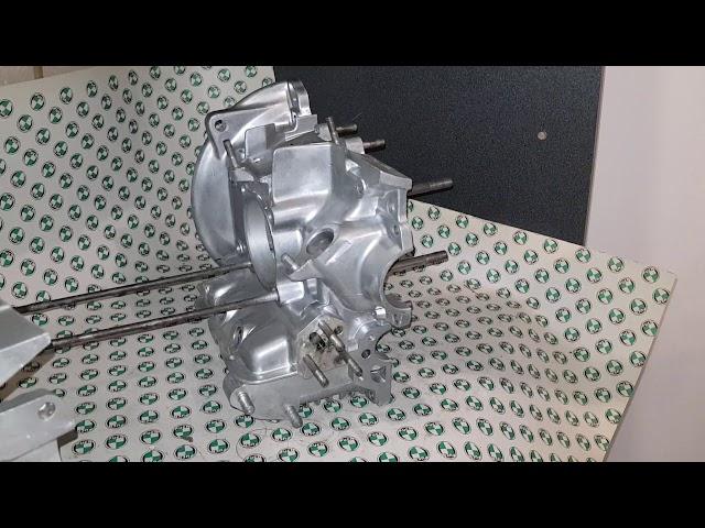Wie man einen erste Serie Steyr Puch Boxermotor erkennt