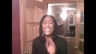 "Yolanda Sutherland sings ""I love You Lord"" (In Carmathen, Wales after dinner lol)"