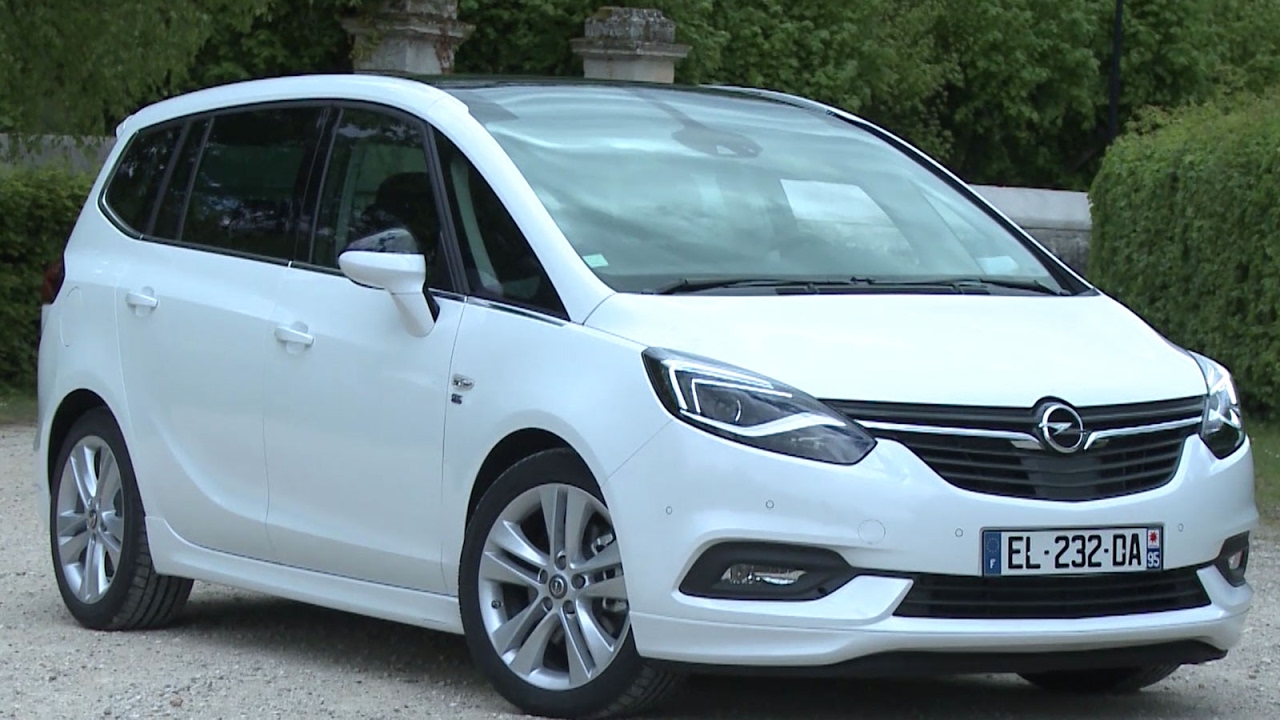 essai opel zafira  cdti  elite  youtube