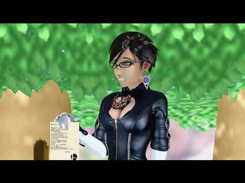 Bayonetta for Smash (unexpected)