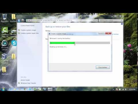 windows 7 home premium deel 1 backup systeem image externe h