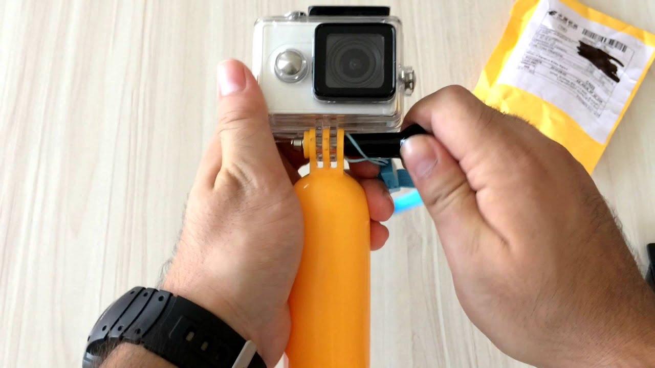 Floating Monopod Review For Xiaomi Yi Camera And Gopro Aliexpress Hand Grip Bobber Hero 2 3 Aliexpresscom Youtube