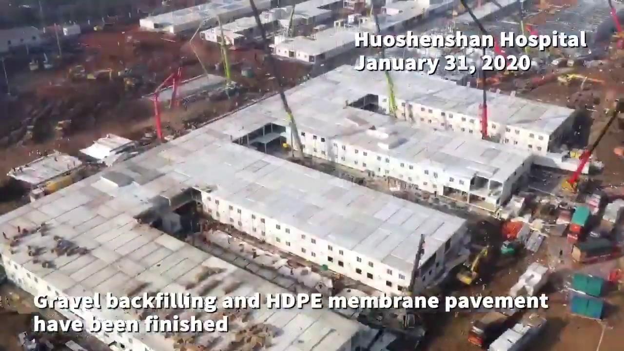 Image result for Huoshenshan Hospital