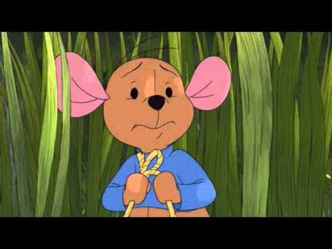 Pooh Heffalump Movie Roo searches for a heffalump