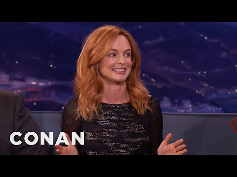 Heather Graham Tells A Dirty Joke About Sperm   CONAN on TBS