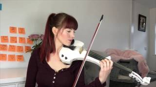 Alexandra - Electric Violin Cover - Everything I Do - Bryan Adams