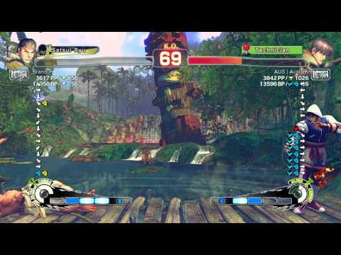 USF4 PC – European Journey:  Brandon (Ryu) vs AvatarK (Guy)