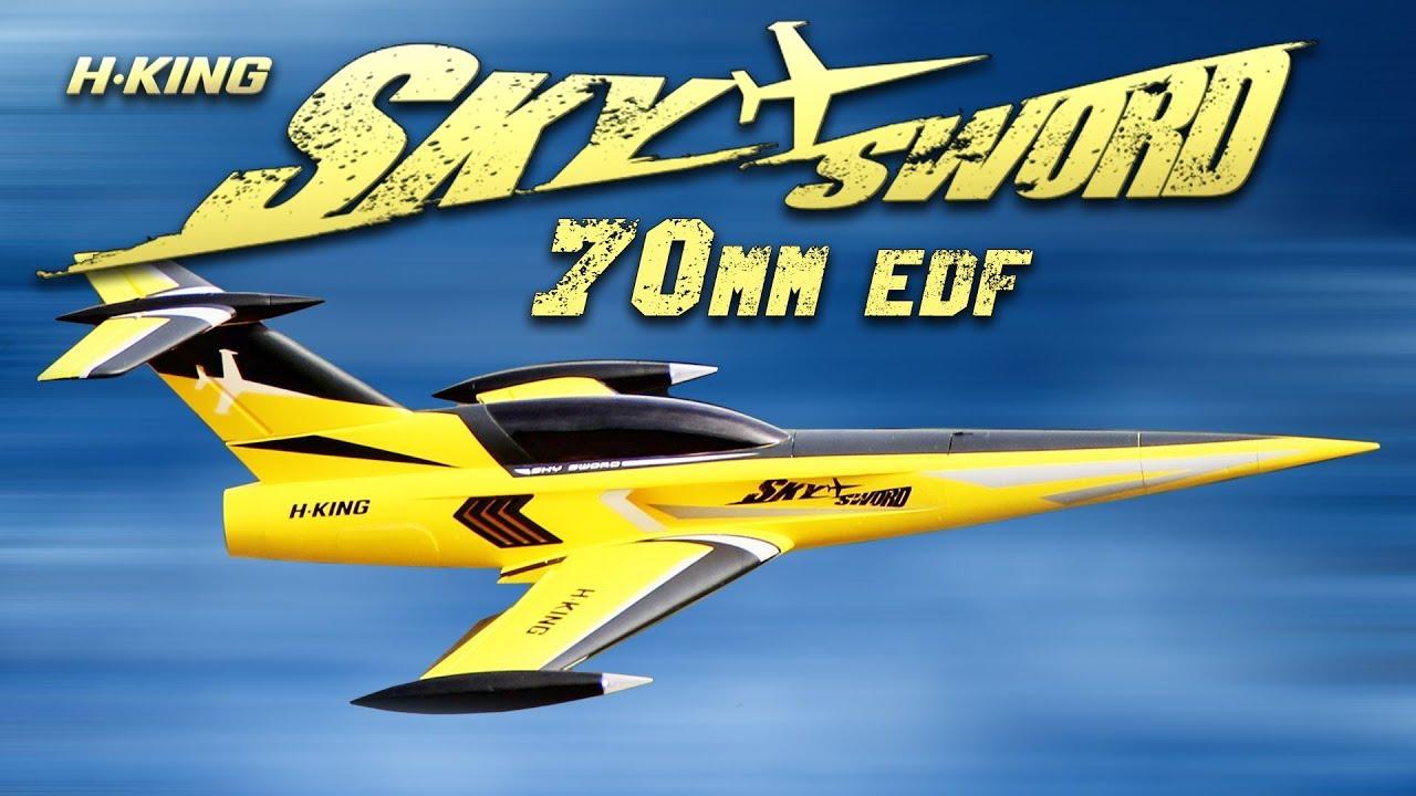 H-King SkySword Pink 70mm EDF Jet 990mm (40
