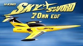 H-King Skysword 70mm Edf Jet 990mm - Hobbyking Product Video