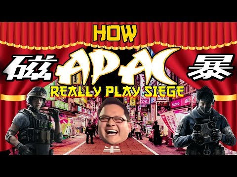 How APAC Really Play Rainbow Six Siege | APAC Pro League Finals Tokyo, Japan October 2018