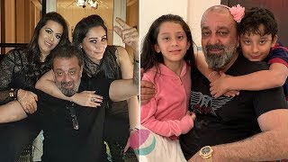 Actor Sanjay Dutt Family Members | Wife, Daughters, Son, Parents Photos & Biography