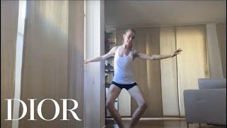 Principal dancer eleonora abbagnato teaches ballet movements