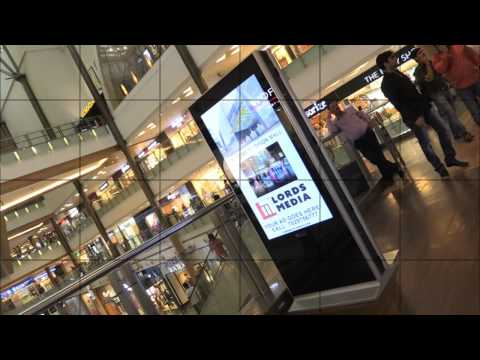 Bangalore Orion Mall  Digital Advertising Standees by M2KSYS.COM