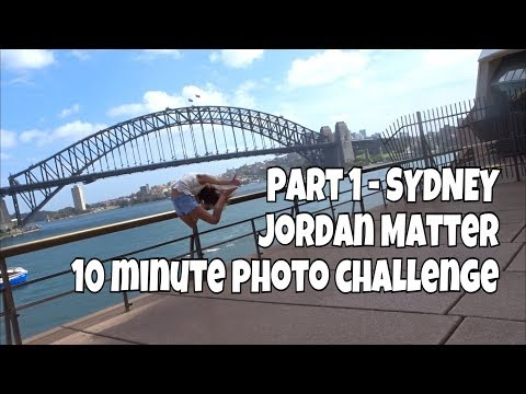 Sydney for JORDAN MATTER 10min challenge -PART 1 Kicked out Opera House before we even met Jordan 😆