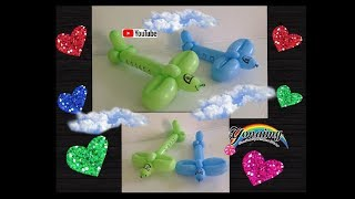 AVION  FIGURA FACIL .- EASY AIRPLANE BALLOON .