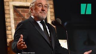 Robert De Niro At Tony Awards: 'F**k Trump!'