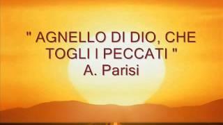 """"""" AGNELLO DI DIO, CHE TOGLI I PECCATI """" A. Parisi"""