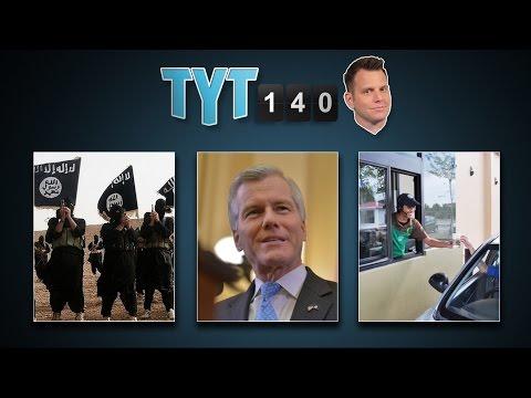 Hamas Admission, ISIS Ransom, Dino Prints & Starbucks Kindness | TYT140 (August 21, 2014), 9:45 PM - The Young Turks  - tOzCj_VZSlU -