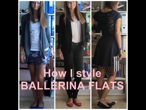 How I style BALLERINA FLATS